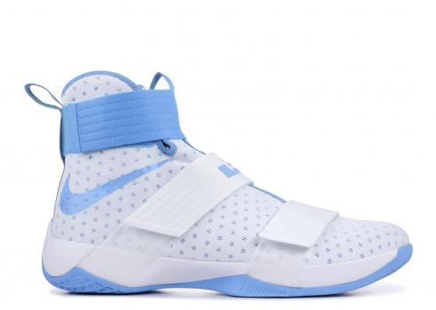 Nike Lebron Soldier 10 TB Promo White University Blue 856489-142
