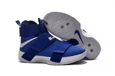 Nike Lebron Soldier 10 X White Royal