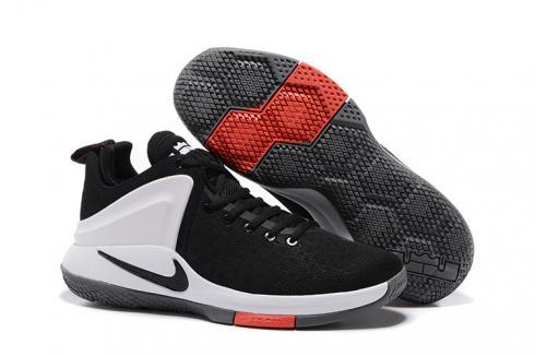 Nike Zoom Witness Lebron James Black White Basketball Shoes 852439 003 Sepsale