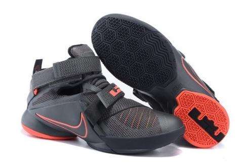 release date: 427a1 7cd97 Nike Lebron Soldier IX 9 PRM EP Dark Grey LBJ Men Basketball Shoes  749491-008