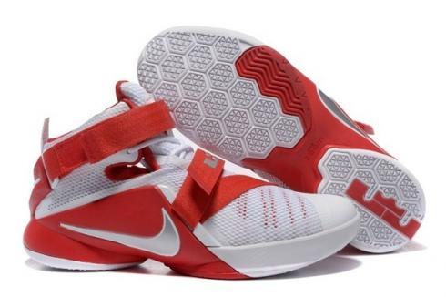 info for 744e5 d7b55 Prev Nike Lebron Soldier IX 9 PRM EP White Red Men Basketball Shoes 749491  601