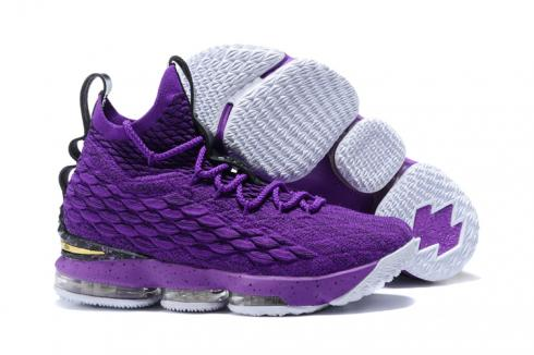 Nike Zoom Lebron XV 15 Men Basketball Shoes Deep Purple All Special