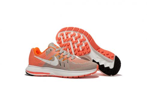 separation shoes fc55f 860b7 Prev Nike Zoom Winflo 2 Light Orange Grey Women Running Shoes Sneakers  Trainers