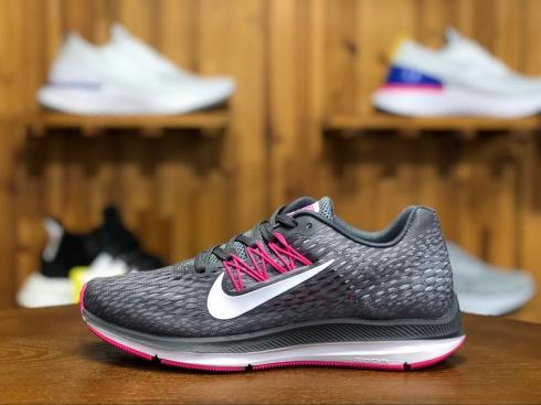 quality design 5fe62 7b0c1 Prev Nike Air Zoom Winflo 5 Running Shoes Grey Pink AA7414-011