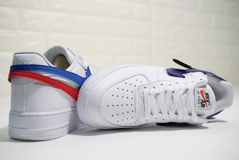 1 Swoosh Nike Velcro Air QS White 102 07 Pack AH8462 Force F5uJ1l3KTc