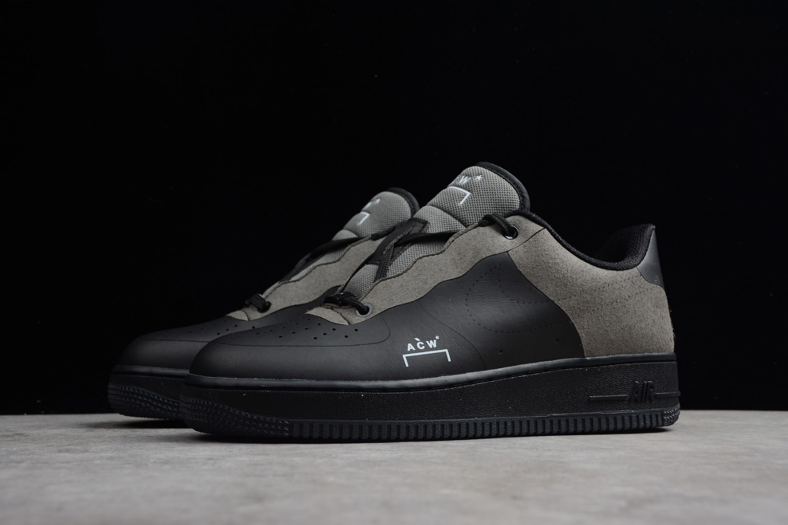 Nike Air Force 1 Low A Cold Wall Black White Dark Grey BQ6924 001