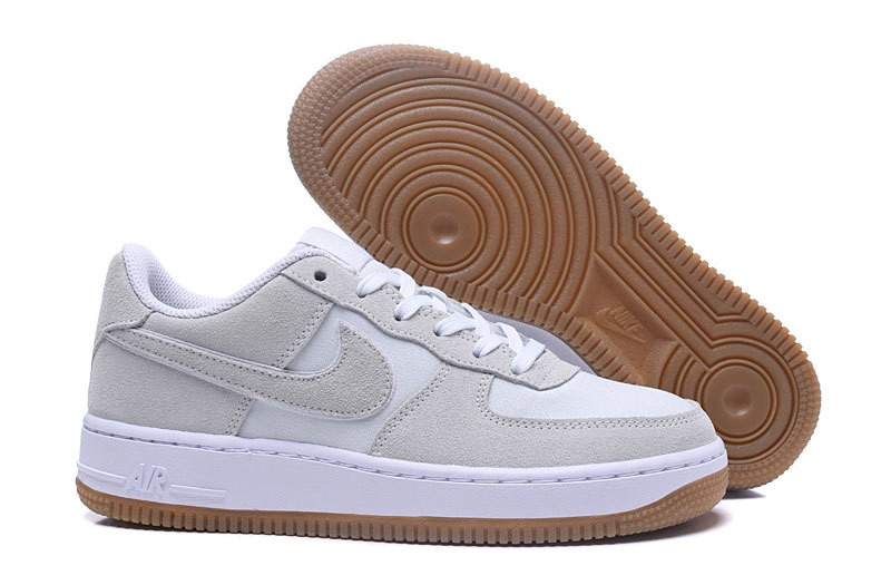 fc7eca796076f Prev Nike Air Force 1 Low GS Off White Gum Lot 596728-101. Zoom