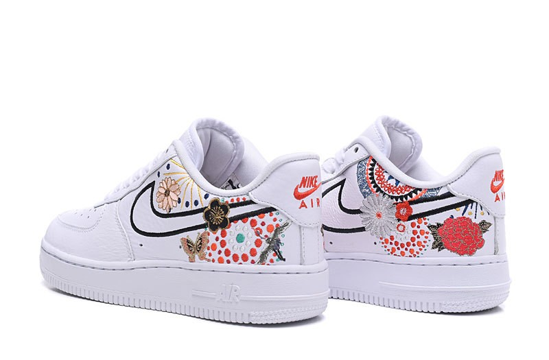 nike air force flower