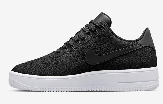 9e0655514 Prev Nike Air Force 1 Ultra Flyknit Low Black All Black NSW HTM Lifestyle Shoes  817419-. Zoom