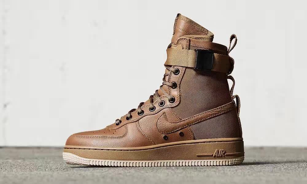 info for 9f5af daf11 Prev Nike Special Forces Air Force 1 Gum Light Brown 857872-200. Zoom