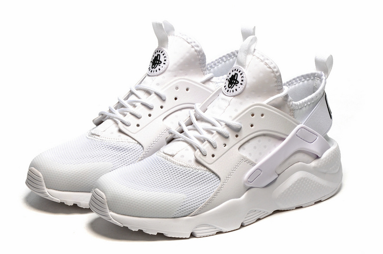 37c50d6f98ac3 Nike Air Huarache Run Ultra BR Triple White Men Running Shoes Sneakers  819685-101