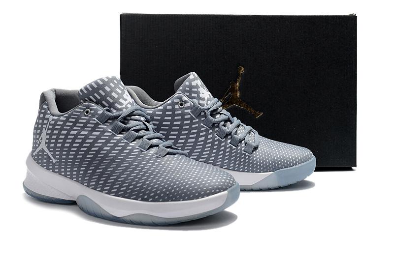 Nike Air Jordan 2017 Grey White men basketball shoes