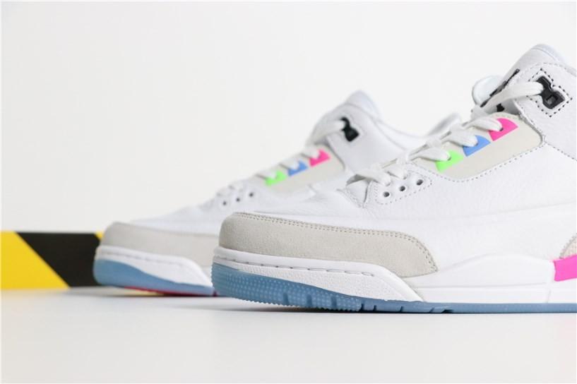 innovative design ef8f8 5ba7f Nike Air Jordan 3 Quai 54 AT9195-111 Men Shoes