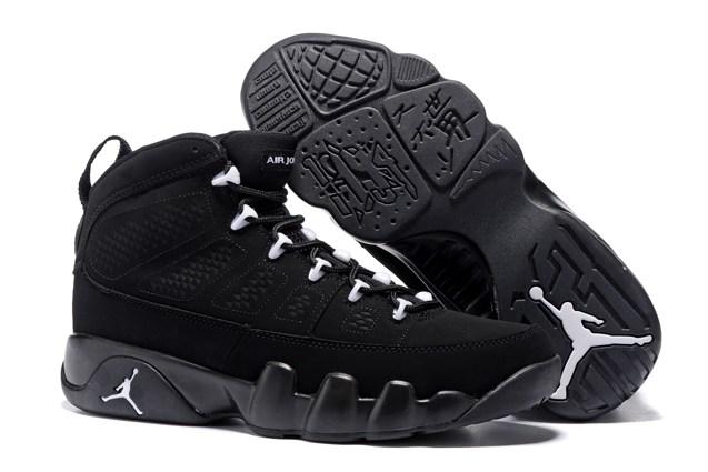 a4d0c53ec80 Prev Nike Air Jordan 9 Retro IX Anthracite White Black Shoes 302370 013  Unisex. Zoom