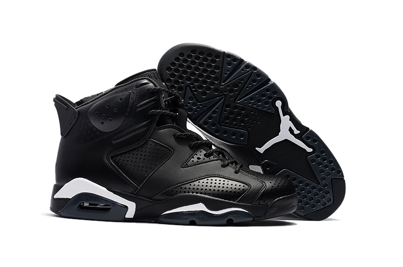 15543e00a38 Prev Nike Air Jordan Retro VI 6 Black Cat Black White Men Shoes 384664-020