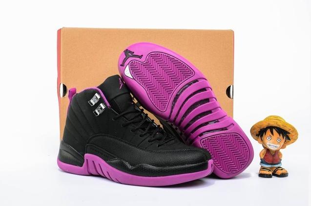 353bee1ffc5 Prev Nike Air Jordan 12 XII Retro GG Hyper Violet Kings Purple GS Women Shoes  510815-. Zoom