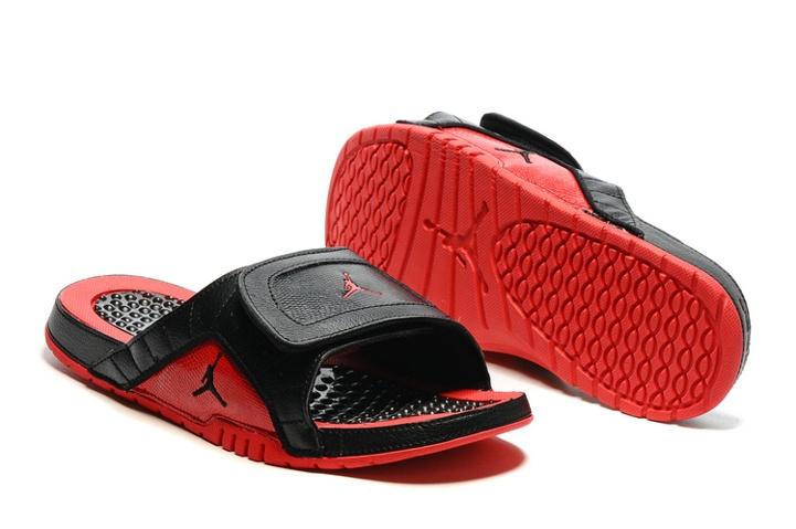 38989fef07c Prev Nike Jordan Hydro XII Retro Men Sandals Slides Flue Game Black Red  820265-001