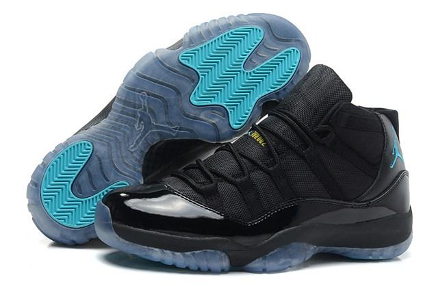 new concept 93039 bca4a Prev Nike Air Jordan Retro 11 XI Black Gamma Blue ...
