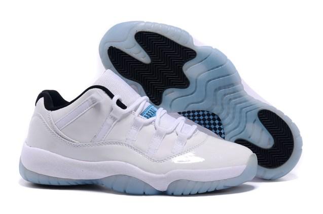 142e2b77e91 Nike Air Jordan 11 XI Retro Low Legend Blue Columbia Men Shoes ...