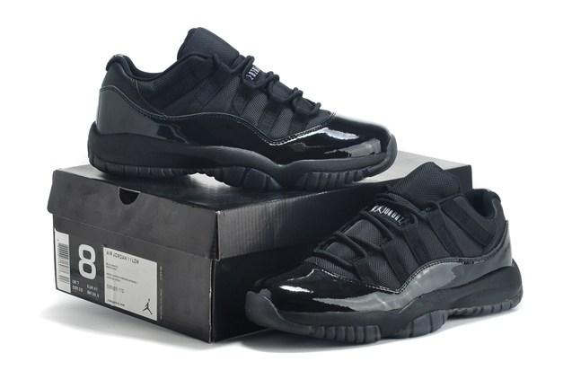 air jordan 11 retro low all black