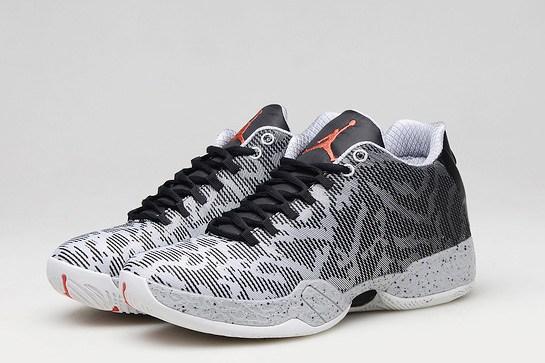 best website 867f6 b6a9c Nike Air Jordan XX9 Low 29 Infrared 23 Black Wolf Grey Men Shoes 828051 003