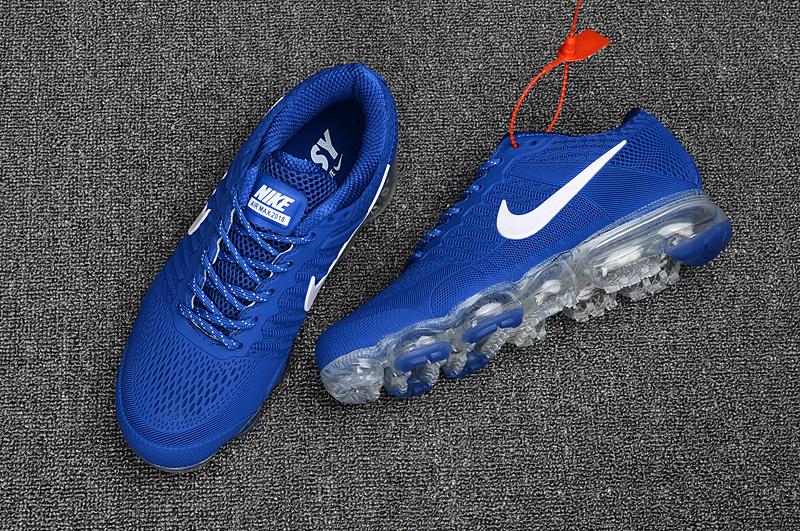 Nike Air Max 2018 Running Shoes KPU Men Blue White 849558-013