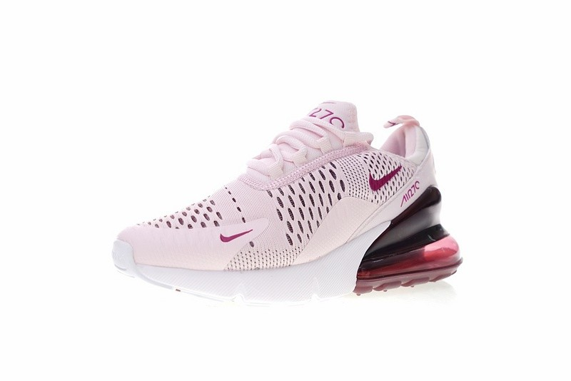 Nike Air Max 270 Barely Rose Vintage Wine Elemental Rose White AH6789 601