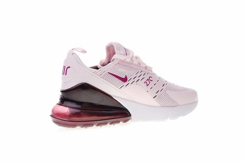 Ladies Nike Air Max 270 Vintage Wine Rose White AH6789 601