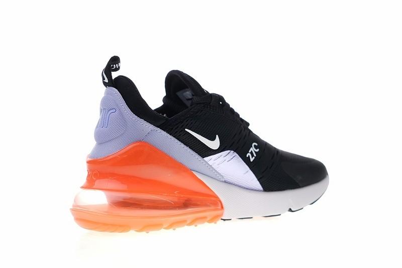 Nike Air Max 270 GS Light Blue Black Orange 943346 004