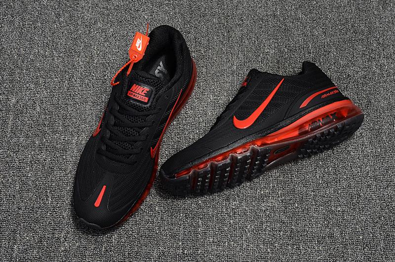 Nike Air Max 360 KPU Running Shoes Men Black Red 310908,016