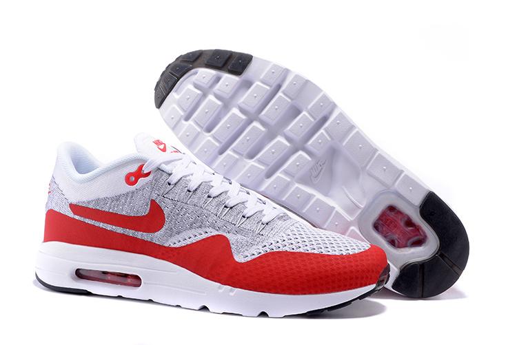 factory price b6637 4025d Prev Nike Air Max 1 Ultra Flyknit OG Men Women Running Shoes White Pure  Platinum Grey University. Zoom