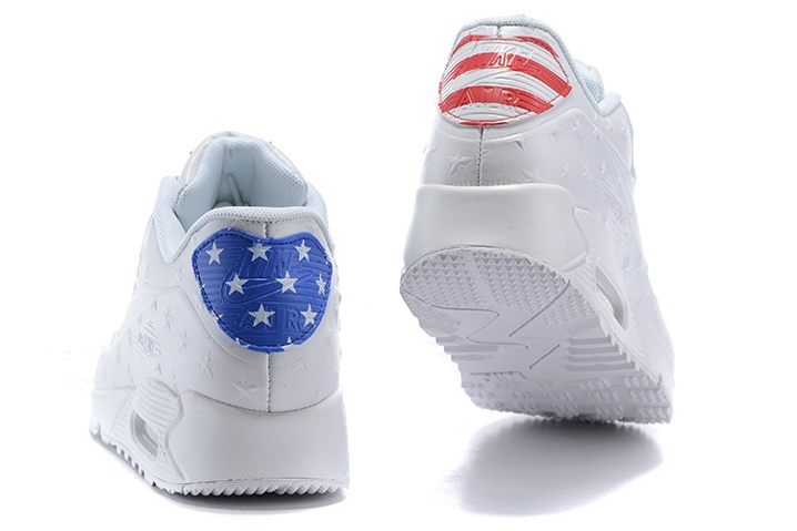 b89a452033 ... Nike Air Max 90 VT USA Independance Day Men Shoes White Dot 472489-060
