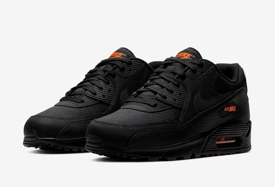 Nike Air Max 90 Black Orange CT2533-001