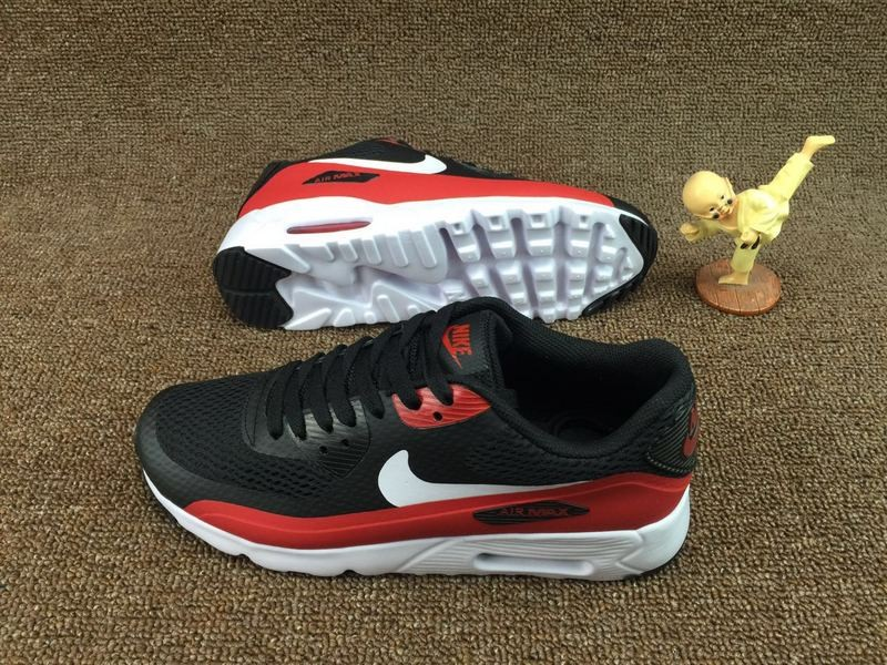 053f93afe5 ... Nike Air Max 90 Ultra 2.0 Essential Red Black White Grey University  819474-002