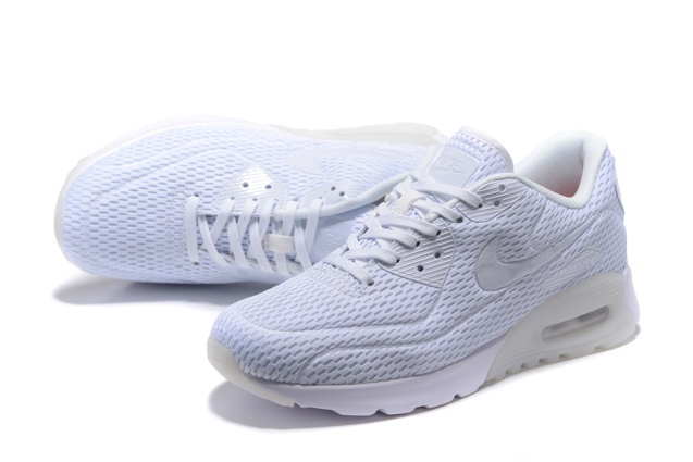 cbab561825 Nike Air Max 90 Ultra BR Breeze Pure Platinum Men Women Running ...
