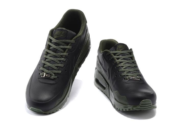 Nike Air Max 90 VT QS Men Running Shoes Army Green Black 813153 104