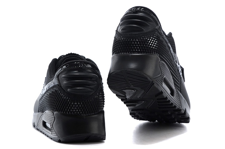 94d829b4c3 ... Nike Air Max 90 Air Yeezy 2 SP Casual Shoes Lifestyle Sneakers All  Black 508214-