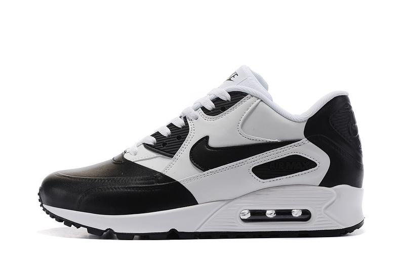 taille 40 949dd 6b65f Nike Air Max 90 Premium SE black white Men running shoes 858954-003