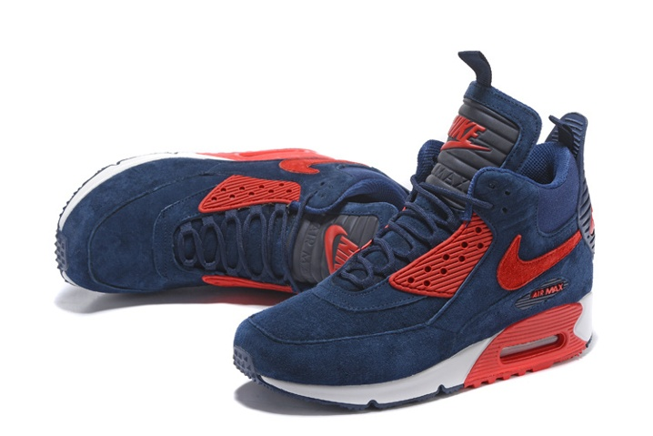 nike air max 90 suede red