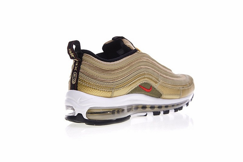 Nike Air Max 97 Cr7 Cristiano Ronaldos Fir Gold Metallic AQ0655 700