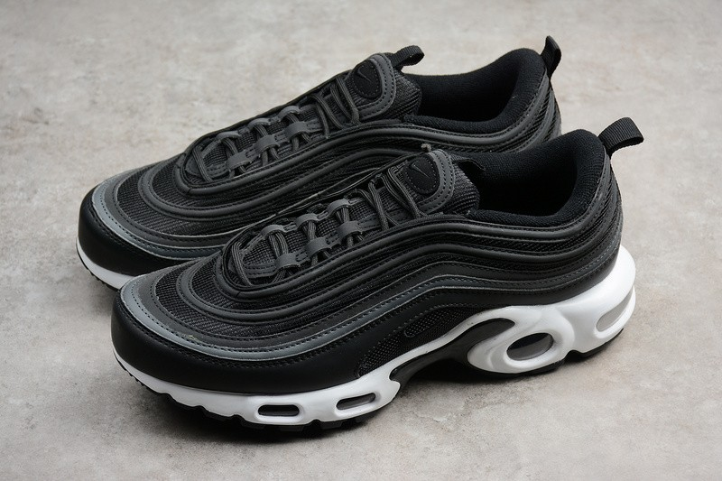 newest ba8f9 785c9 Nike Air Max Plus 97 TN Black White AH8143-001