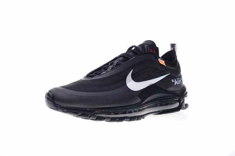Off White x Nike Air Max 97 OG Black Cone Black White AJ4585 001