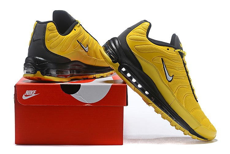 Nike Air Max 97 Plus Yellow Black Sneakers Sepsale