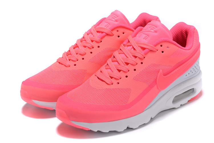 Nike Air Max BW Ultra Big Window GS Women Running Shoes All Pink White 819475 012