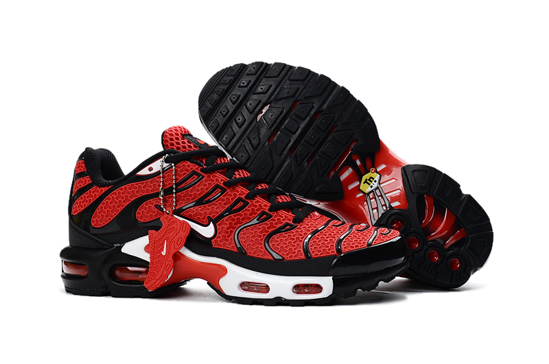 separation shoes fc008 8aa92 Prev Nike Air Max Plus TXT TN KPU Black Red Men Sneakers Running Trainers  Shoes 604133-. Zoom