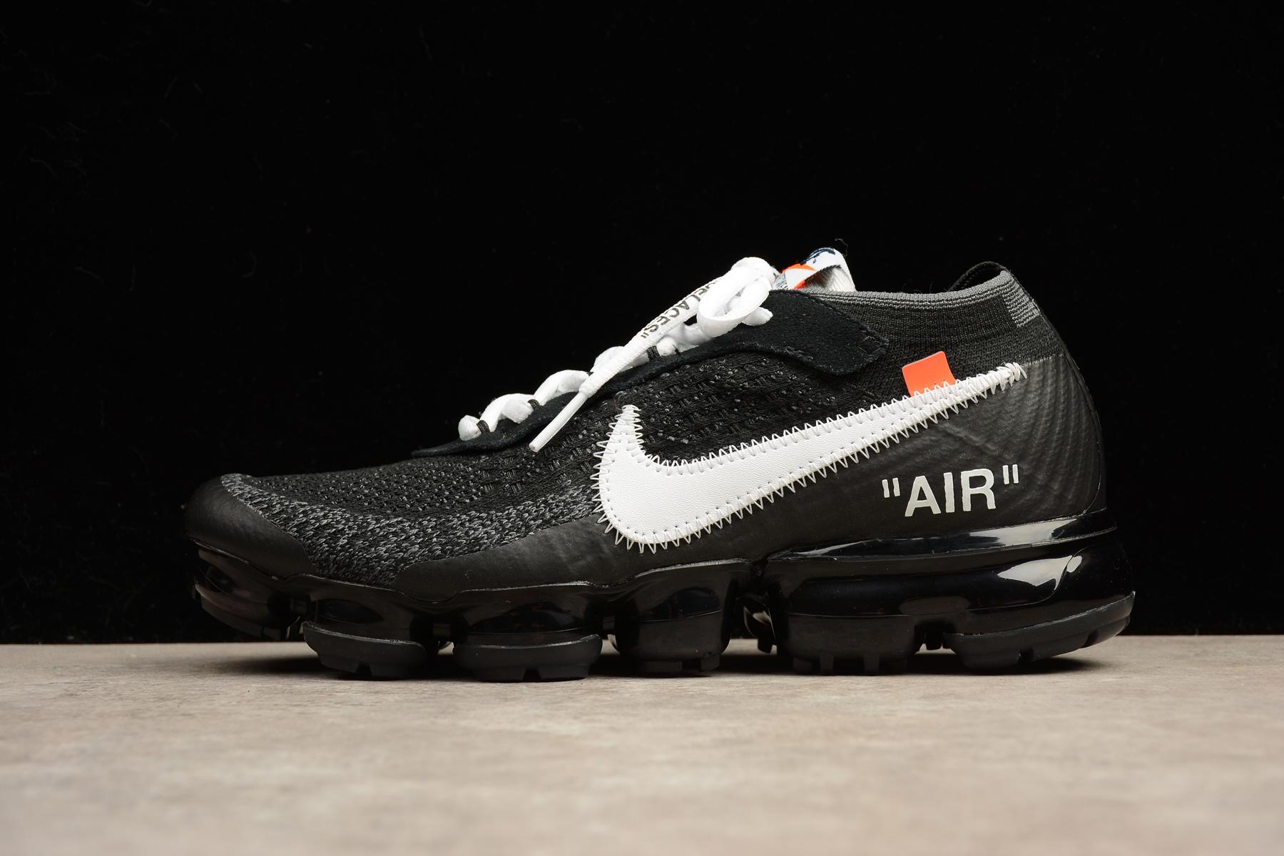 6a4965f68e Prev 2018 Off White X Nike Air Max Vapormax Men Running Shoes Black AA3831- 001. Zoom