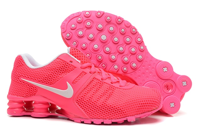 new concept 1a32f 5ff7b Prev Nike Shox Current 807 Net Women Shoes Pink Red White