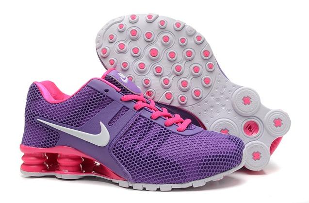 buy online 4d645 7fbc2 Prev Nike Shox Current 807 Net Women Shoes Purple Pink Red White