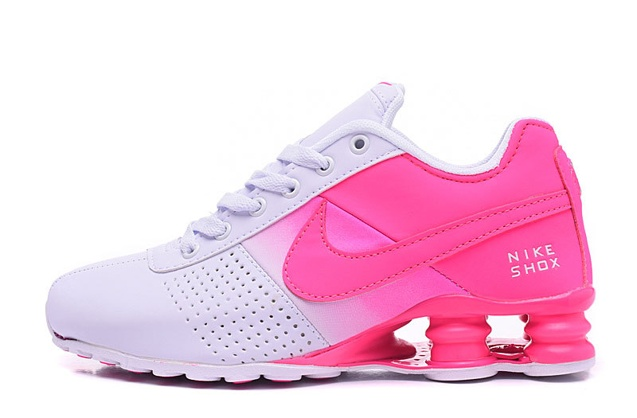 super popular 05a6f fdcc2 ... Nike Shox Deliver Women Shoes Fade White Fushia Pink Casual Trainers  Sneakers 317547