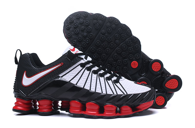innovative design b4ead 2d3f5 Prev Nike Shox TLX Men Casual Style Shoes TPU Black White Red